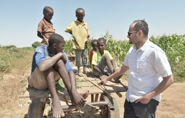 Mao|Marketing Director: Mohamed Mao enjoying some quality time with locals.